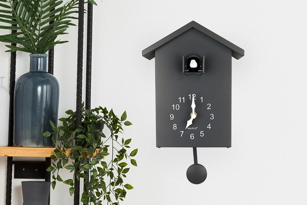 Dark Grey Cuckoo Clock